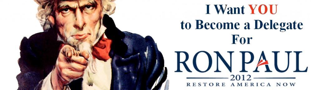 Delegate for Ron Paul